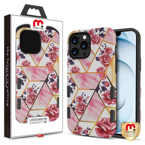 MyBat Pro TUFF Subs Series Case for Apple iPhone 13 Pro Max (6.7) - Rose Marble