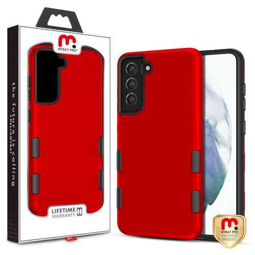MyBat Pro TUFF Subs Series Case for Samsung Galaxy S21 Fan Edition - Red