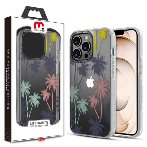 MyBat Pro Mood Series Case for Apple iPhone 13 Pro (6.1) - Pastel Palms