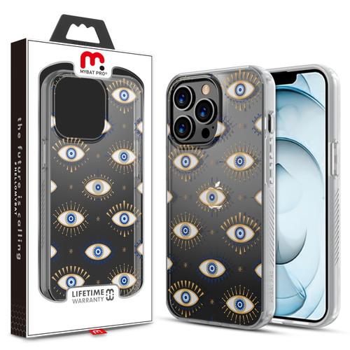 MyBat Pro Mood Series Case for Apple iPhone 13 Pro Max (6.7) - Evil Eye