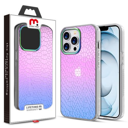 MyBat Pro Mood Series Case for Apple iPhone 13 Pro Max (6.7) - Iridescent Snake