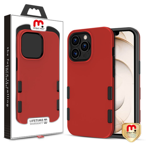 MyBat Pro TUFF Subs Series Case for Apple iPhone 13 Pro (6.1) - Red