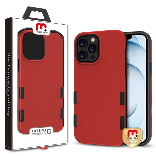 MyBat Pro TUFF Subs Series Case for Apple iPhone 13 Pro Max (6.7) - Red