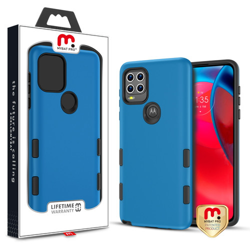 MyBat Pro TUFF Subs Series Case for Motorola Moto G Stylus 5G - Blue