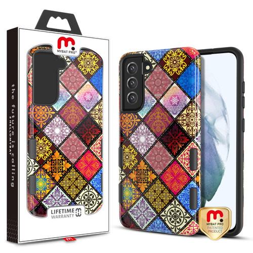 MyBat Pro TUFF Subs Series Case for Samsung Galaxy S21 Fan Edition - Mediterranean / Black