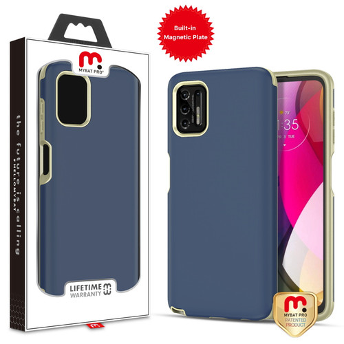 MyBat Pro Fuse Series Case with Magnet for Motorola Moto G Stylus (2021) - Ink Blue