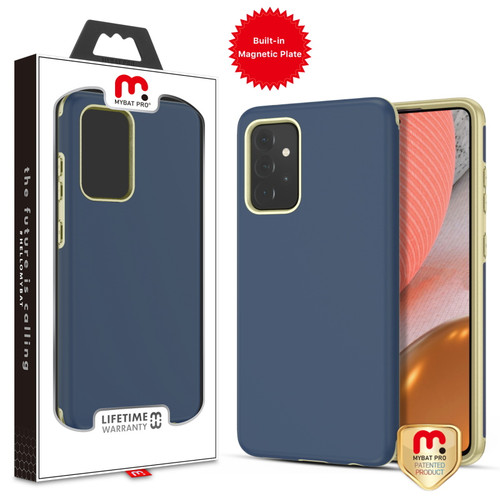 MyBat Pro Fuse Series Case with Magnet for Samsung Galaxy A72 5G - Ink Blue
