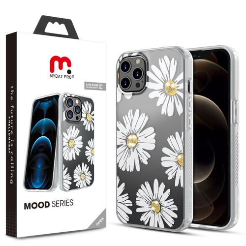 MyBat Pro Mood Series Case (with Diamonds) for Apple iPhone 12 Pro Max (6.7) - Happy