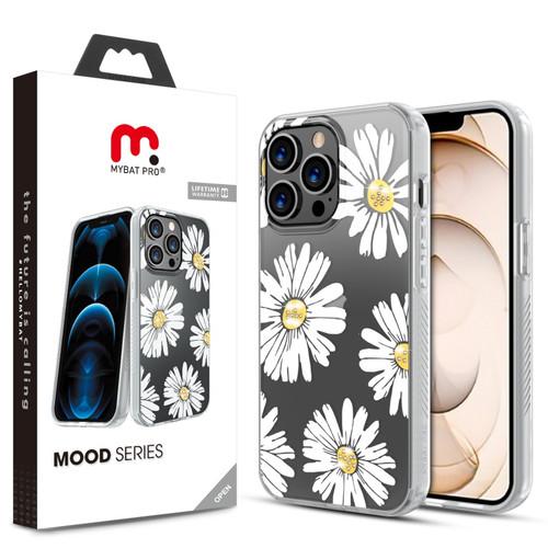 MyBat Pro Mood Series Case (with Diamonds) for Apple iPhone 13 Pro (6.1) - Happy