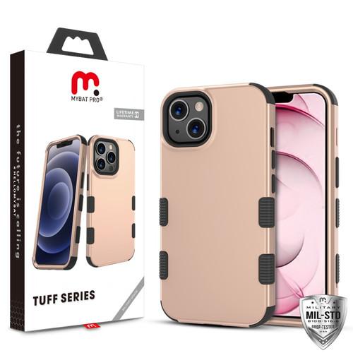 MyBat Pro TUFF Series Case for Apple iPhone 13 (6.1) - Rose Gold / Black