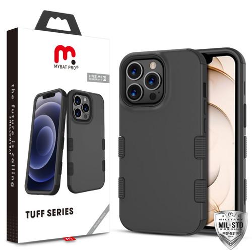 MyBat Pro TUFF Series Case for Apple iPhone 13 Pro (6.1) - Black