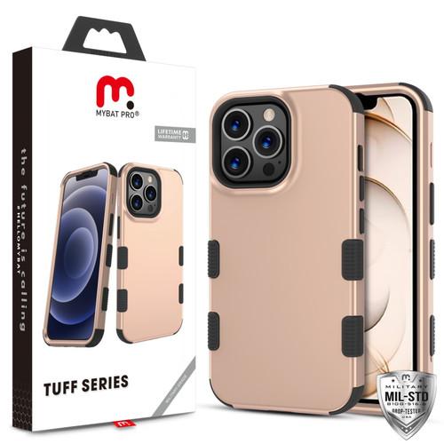 MyBat Pro TUFF Series Case for Apple iPhone 13 Pro (6.1) - Rose Gold / Black