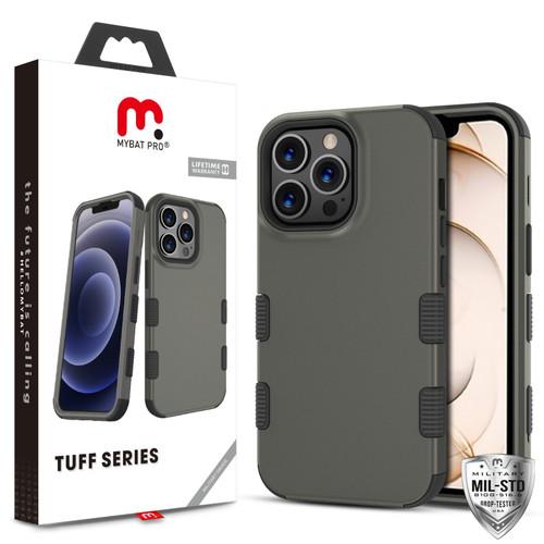 MyBat Pro TUFF Series Case for Apple iPhone 13 Pro (6.1) - Rubberized Copper Grey / Black
