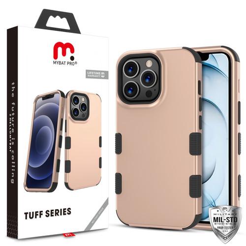 MyBat Pro TUFF Series Case for Apple iPhone 13 Pro Max (6.7) - Rose Gold / Black