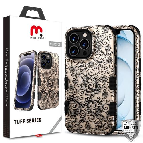 MyBat Pro TUFF Series Case for Apple iPhone 13 Pro Max (6.7) - Leaf Clover