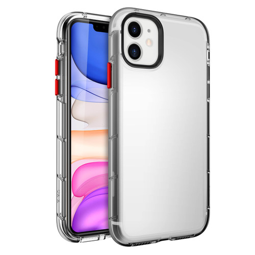 ZIZO SURGE Series for iPhone 11 Case - Sleek Clear Case Customizable Buttons - Clear SUR-IPH61-CL