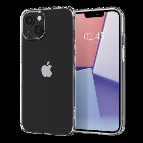 Spigen - Crystal Flex Case for Apple iPhone 13 - Crystal Clear