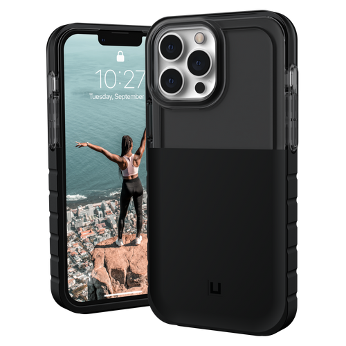 Urban Armor Gear - U Dip Case for Apple iPhone 13 Pro Max - Black