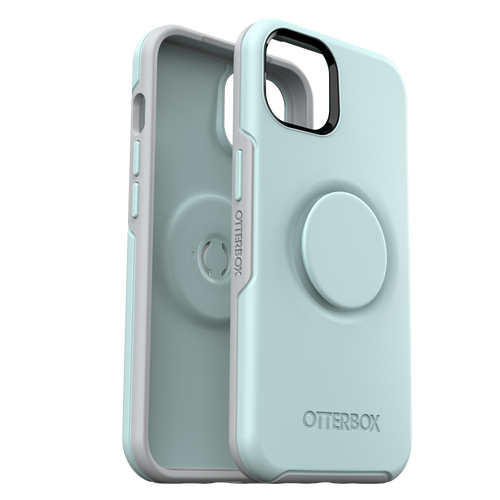 Otterbox - Otter  Pop Symmetry Case with Popgrip for Apple iPhone 13  - Tranquil Waters