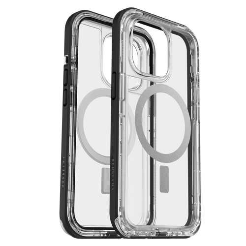 Lifeproof - Next Magsafe Case for Apple iPhone 13 Pro  - Black Crystal