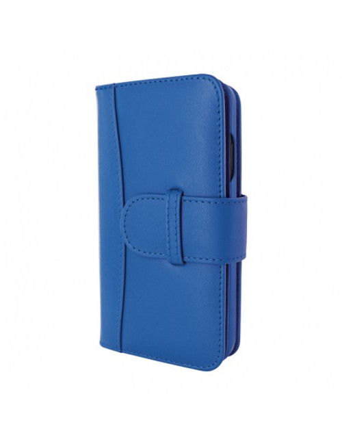 Piel Frama 890 Blue WalletMagnum Leather Case for Apple iPhone 13 Pro Max