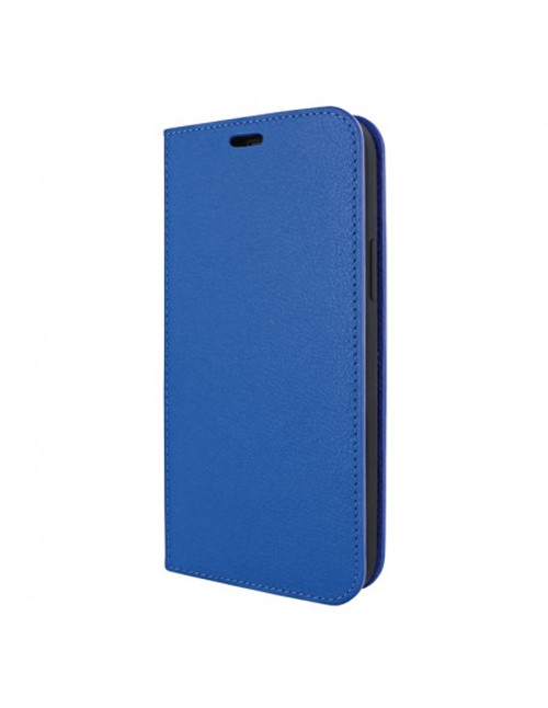 Piel Frama 895 Blue FramaSlimCards Leather Case for Apple iPhone 13 Pro Max