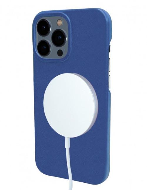 Piel Frama 900 Blue FramaSlimGrip Leather Case for Apple iPhone 13 Pro