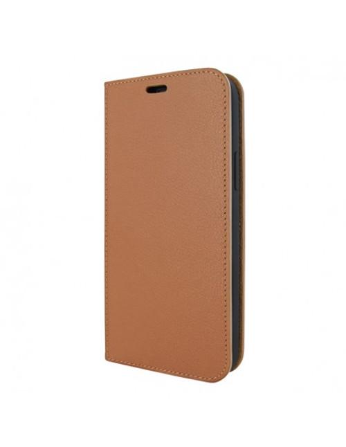 Piel Frama 915 Tan FramaSlimCards Leather Case for Apple iPhone 13