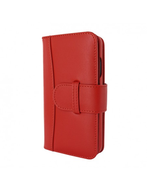 Piel Frama 905 Red WalletMagnum Leather Case for Apple iPhone 13 mini