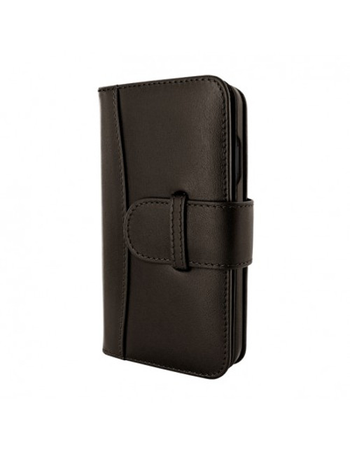 Piel Frama 905 Brown WalletMagnum Leather Case for Apple iPhone 13 mini