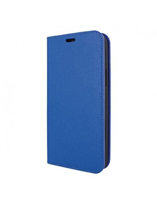 Piel Frama 908 Blue FramaSlimCards Leather Case for Apple iPhone 13 mini