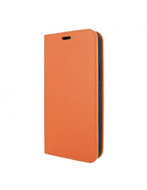 Piel Frama 908 Orange FramaSlimCards Leather Case for Apple iPhone 13 mini