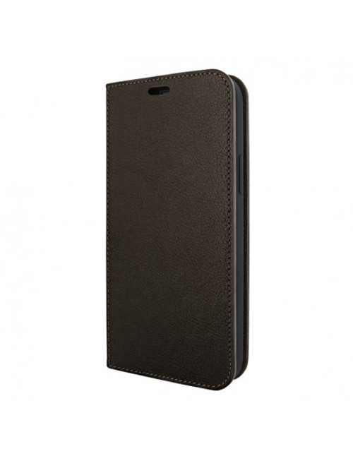 Piel Frama 908 Brown FramaSlimCards Leather Case for Apple iPhone 13 mini