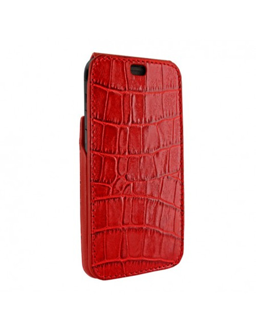 Piel Frama 894 Red Crocodile iMagnum Leather Case for Apple iPhone 13 Pro Max