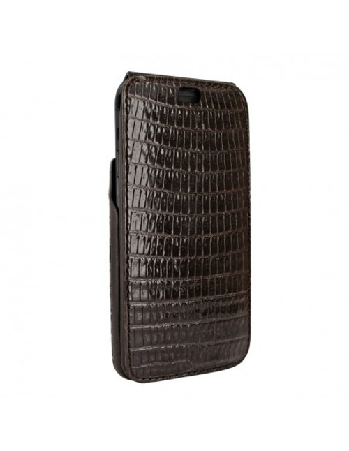 Piel Frama 894 Brown Lizard iMagnum Leather Case for Apple iPhone 13 Pro Max