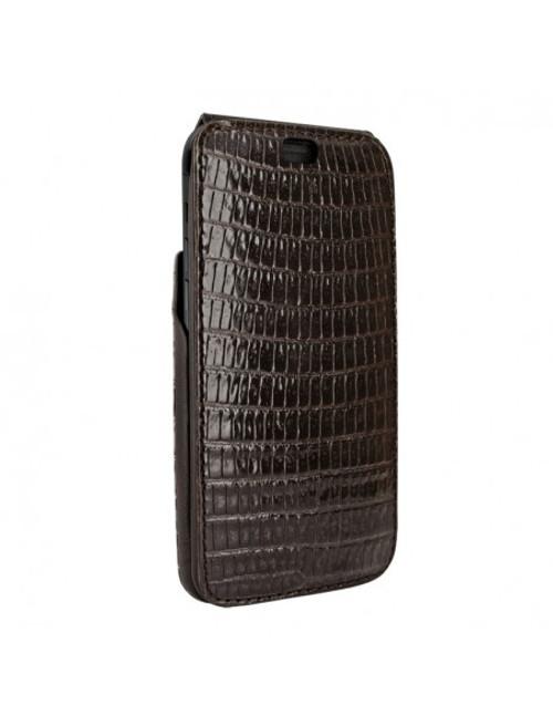 Piel Frama 901 Brown Lizard iMagnum Leather Case for Apple iPhone 13 Pro