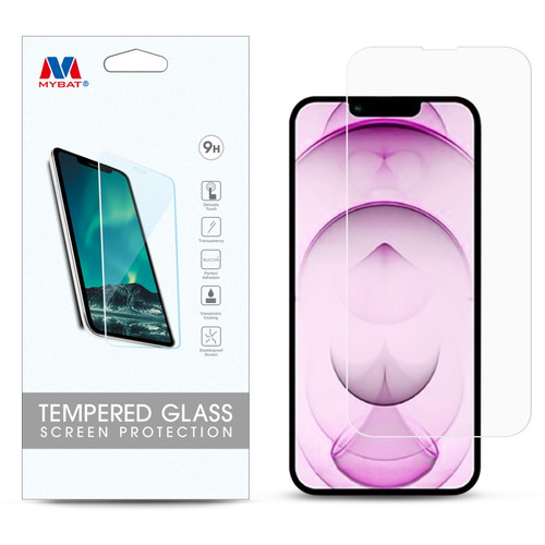 MyBat Tempered Glass Screen Protector (2.5D) for Apple iPhone 13 mini (5.4) - Clear