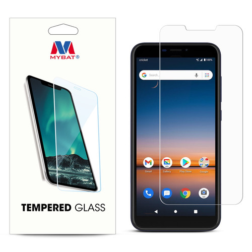 MyBat Tempered Glass Screen Protector (2.5D) for Cricket Debut - Clear