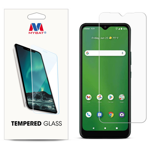 MyBat Tempered Glass Screen Protector (2.5D) for Cricket Icon 3 - Clear