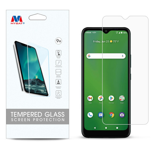 MyBat Tempered Glass Screen Protector (2.5D) for Cricket Ovation 2 / Dream 5G – Clear