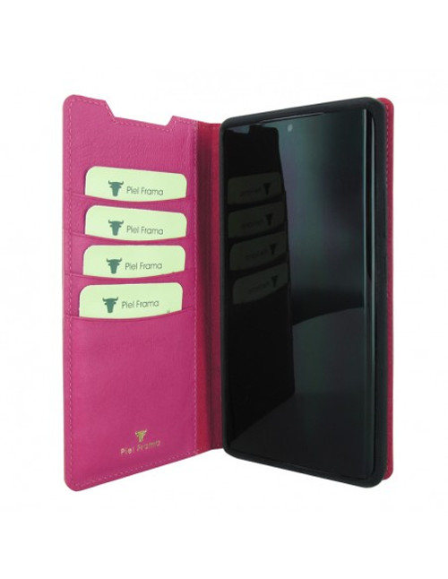 Piel Frama 870 Pink FramaSlimCards Leather Case for Samsung Galaxy Note 20 Ultra
