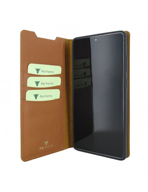 Piel Frama 869 Tan FramaSlimCards Leather Case for Samsung Galaxy Note 20