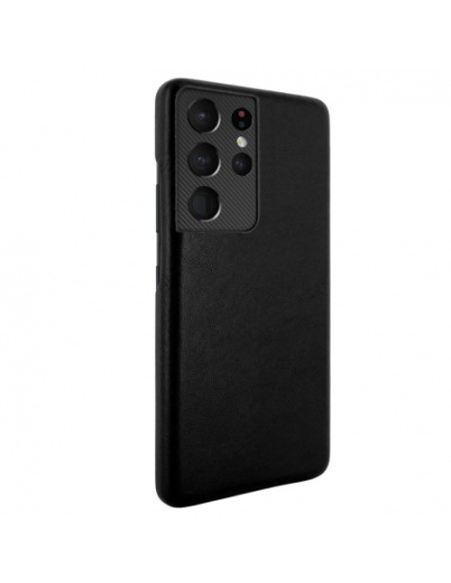 Piel Frama 875 Black FramaSlimGrip Leather Case for Samsung Galaxy S21 Ultra