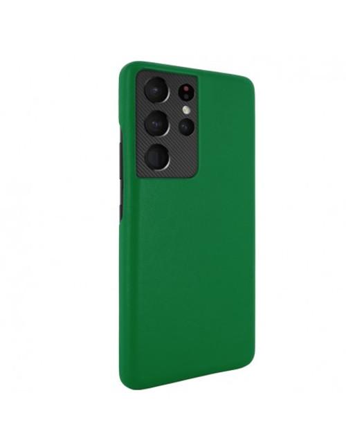 Piel Frama 875 Green FramaSlimGrip Leather Case for Samsung Galaxy S21 Ultra