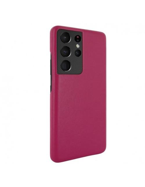 Piel Frama 875 Pink FramaSlimGrip Leather Case for Samsung Galaxy S21 Ultra