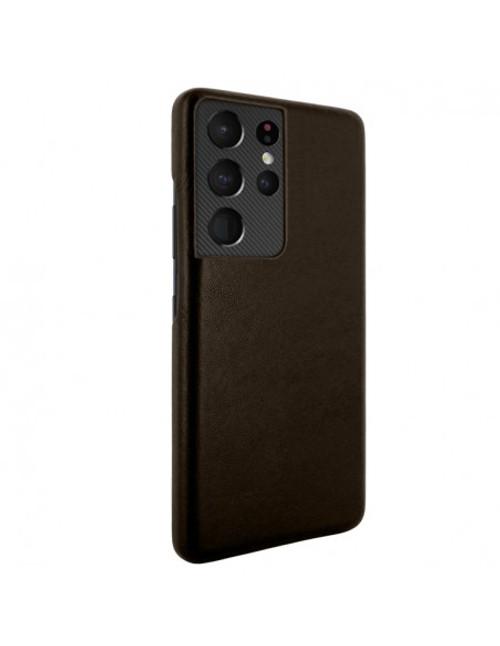 Piel Frama 875 Brown FramaSlimGrip Leather Case for Samsung Galaxy S21 Ultra