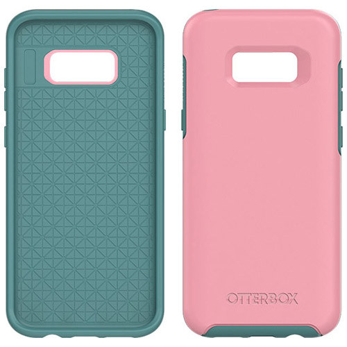 Samsung Galaxy S8 Plus Otterbox Symmetry Case - Prickly Pear Rosmarine And Mountain Range Green