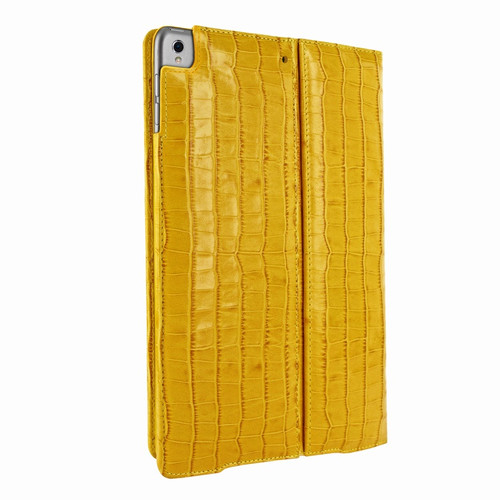 Piel Frama 786 Yellow Crocodile Cinema Magnetic Leather Case for Apple iPad Pro 10.5""