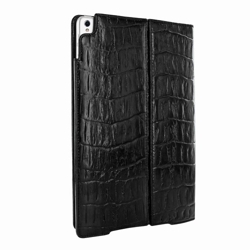 Piel Frama 786 Black Wild Crocodile Cinema Magnetic Leather Case for Apple iPad Pro 10.5""