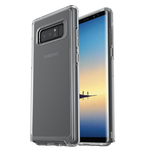 Otterbox - Symmetry Clear Case for Samsung Galaxy Note 8 - Clear